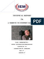 Stephen Hawking Technical Report