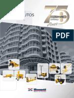 Catálogo de equipamentos 2014