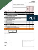 Appendix @ In Final Report Form