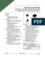 Pdf STR710RZ