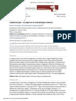 Capilaroscopia - Un Papel en La Reumatología Moderna