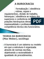 Teóría Da Burocracia