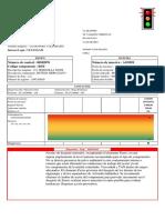 Reporte tipo analisis de lubricante