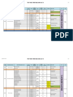 Detailed Timetable Published