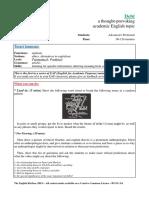 The English Kitchen - Debt