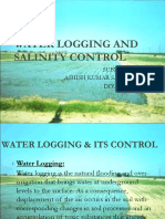 Water logging and salinity control