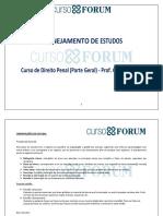 Plano de Estudos - Penal - Gabriel Habib