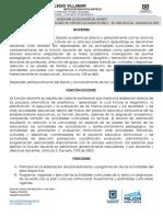 Funciones Docentes Primaria 2019 Villamar