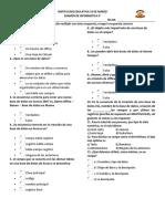 Examen de Informatica