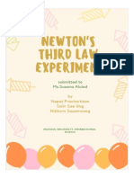 introduction for newton 3rd law