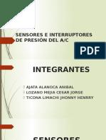 Sensores e Interruptores de Presión