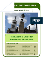 Ampthill Welcome Pack