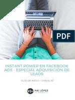 Guía publicidad en Facebook