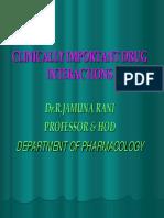 Drug Ineraction