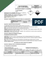 HSE GA HS 43 V01 Cloro y Cloro Original