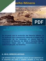 Ppt Derecho Minero Historia