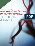 Uma História Intima da Humanidade - Theodore Zeldin.pdf
