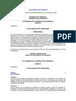 Ley de Ejercicio Del Periodismo -Gaceta Oficial N4883 Extraordinario de Fecha 31 de Marzo de 1995