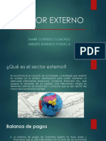 Sector Externo Colombia