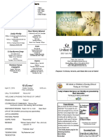 St Andrews Bulletin 042119 Easter