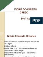 História Do Direito Grego