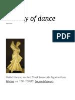History of Dance - Wikipedia (1)