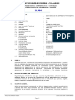 Silabo Especfico - Contabilidad de Empresas Financieras