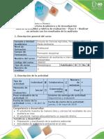 Guía de Actividades y Rúbrica de Evaluación - Paso 5 - Realizar Un Artículo Con Los Resultados de La Auditoría (2)