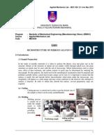 3.0Lab Sheet Material Sciences