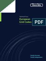 MAU2673 European Grid Codes