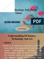 Science, Technology and Art in Islam