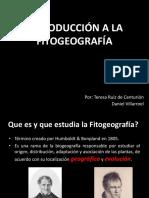 Clase 1 - Introducción a La Fitogeografía - Ok