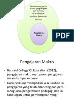 PRKA3012 Bab 3 Pengajaran Makro