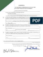 Mueller Report Subpoena 4.18.19
