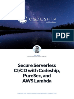 Secure Serverless CI/CD with Codeship, PureSec, and AWS Lambda
