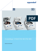 Manual de Instrucciones - Centrifuge 5702 Family (IVD)