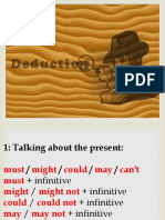 Modals of Deduction