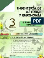Sesión 3 EL ESTUDIO DEL TRABAJO