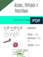 Aminoácidos, Péptidos y Proteínas (1)