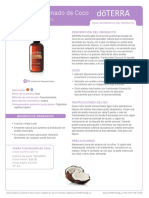 Aceite Fraccionado de Coco Fractionated Coconut Oil