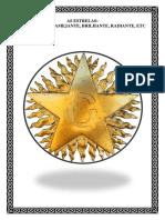 A Estrela Flamigera Ou Estrela Flamejante - Branco-preto111