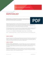 factsheet-biopsychology