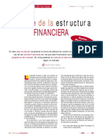 El Coste de La Estructura FINANCIERA Caso Práctico
