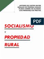 SOCIALISMO Y PROPIEDAD RURAL - PLINIO CORREA DE OLIVEIRA RACQ.pdf