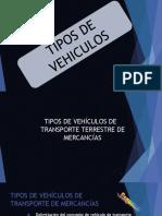 1.- Tipos de Vehiculo