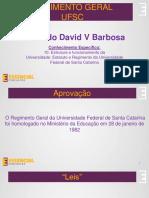 Regimento UFSC