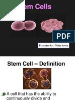 Stem Cells Nisha