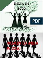 Women in 2020