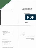 Asprelli, M. La Didactica en La Formacion Docente