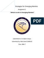 Analysis and Strategies for Emerging Markets